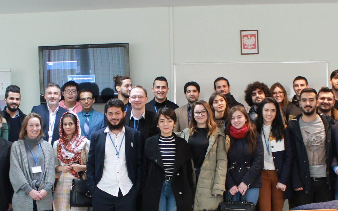 Goście z Afganistanu na Uczelni (oraz w naszym Instytucie)