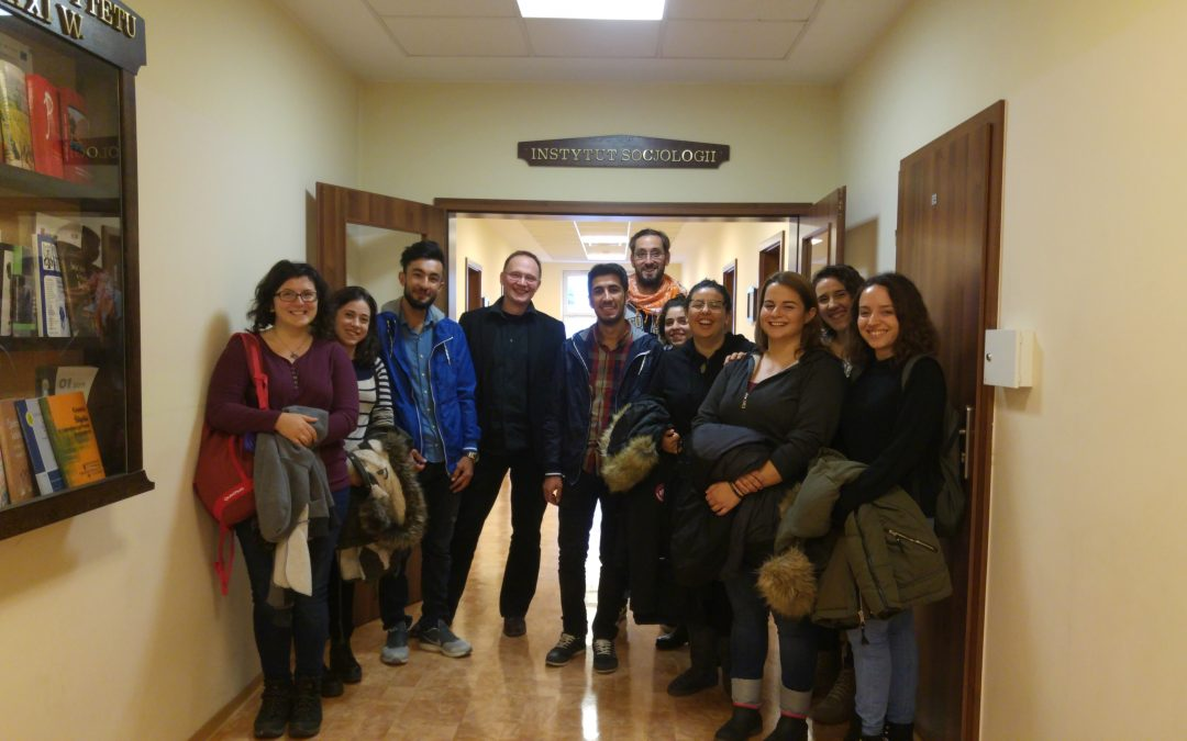 Erasmus students – welcome to Opole (and Institute of Sociology)