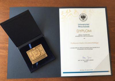 medal prof. Szczepańskiego
